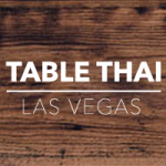 Table Thai Las Vegas